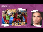 PEPE and NANI look back on EURO 2016 FINAL   PORTUGAL 1-0 FRANCE   EURO Relive
