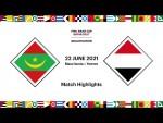 Mauritania v Yemen   FIFA Arab Cup 2021 Qualifier   Match Highlights