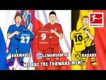 Best Striker? – Lewandowski, Kramarić, Hazard  • EURO Dream Team Battle | Powered by 442oons