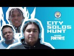 Play Fortnite for Manchester City!! | City Solos Hunt