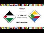 Palestine v Comoros | FIFA Arab Cup 2021 Qualifier | Match Highlights