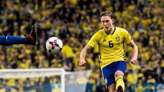 SERIE A - Lazio eyeing Swedish international full-back Augustinsson
