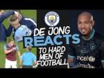 NIGEL DE JONG REACTS! | MAN CITY HARDMEN | Zabaleta, Ruben Dias, Kolarov and More...