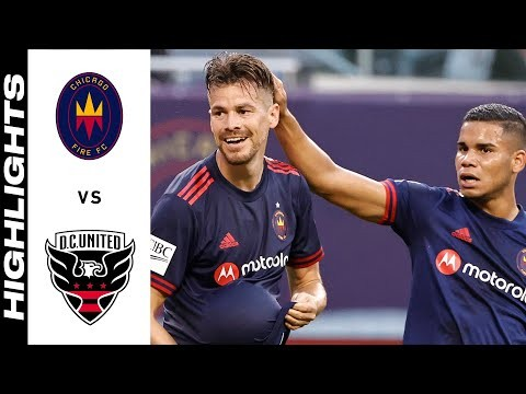 HIGHLIGHTS: Chicago Fire FC vs. D.C. United   July 21, 2021