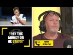 """""""PAY THE MONEY OR HE STAYS!"""" Spurs fan Terry says Harry Kane will only leave if City pay Spurs' fee!"""