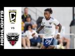 HIGHLIGHTS: Columbus Crew vs. D.C. United | August 04, 2021