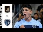 HIGHLIGHTS: Los Angeles Football Club vs. Sporting Kansas City | August 04, 2021