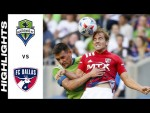 HIGHLIGHTS: Seattle Sounders FC vs. FC Dallas | August 04, 2021