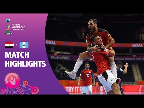 Egypt v Guatemala | FIFA Futsal World Cup 2021 | Match Highlights