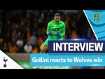 Our penalty hero!   Gollini's post-match interview   Wolves 2-2 Spurs (2-3 on penalties)