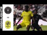 HIGHLIGHTS: Inter Miami CF vs. Nashville SC   September 22, 2021