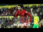 Inside Norwich: Norwich City 0-3 Liverpool | Minamino's double in the Carabao Cup