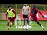Inside Training: Boss goals, big saves and skills in the rondos