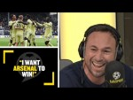 """""""I WANT ARSENAL TO WIN!"""" Jason Cundy would be happy to see the Gunners go above Spurs in the league!"""