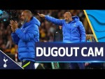 UNIQUE view of Nuno's reactions in a dramatic cup-tie with Wolves!   DUGOUT CAM
