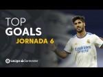 Todos los goles de la jornada 6 de LaLiga Santander 2021/2022