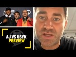 AJ VS USYK PREVIEW🔥 Eddie Hearn warns Joshua to be careful when fighting Usyk