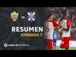 Resumen de UD Almería vs CD Tenerife (3-1)