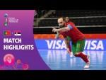 Portugal v Serbia | FIFA Futsal World Cup 2021 | Match Highlights