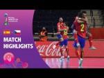 Spain v Czech Republic | FIFA Futsal World Cup 2021 | Match Highlights