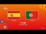 Espanha v Portugal | Copa do Mundo FIFA de Futsal de 2021 | Partida completa