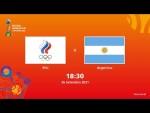 RFU v Argentina | Copa do Mundo FIFA de Futsal de 2021 | Partida completa