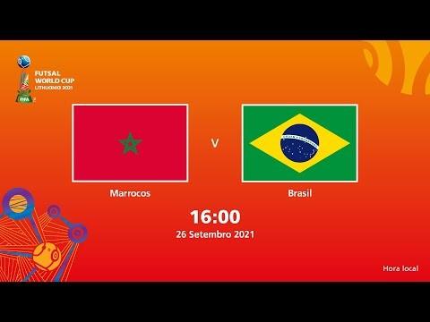 Marrocos v Brasil   Copa do Mundo FIFA de Futsal de 2021   Partida completa