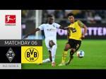 Bitter Setback for BVB! | Borussia M'gladbach - BVB 1-0 | All Goals | Matchday 6 – Bundesliga 21/22