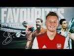 Who is Ben White's favourite footballer ever?