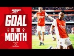 Who scored Arsenal's best goal in September? | Aubameyang, Mead, Odegaard, Miedema & more