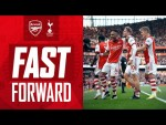 FAST FORWARD | Arsenal vs Tottenham Hotspur (3-1) | The goals, celebs, tweets, memes & reactions