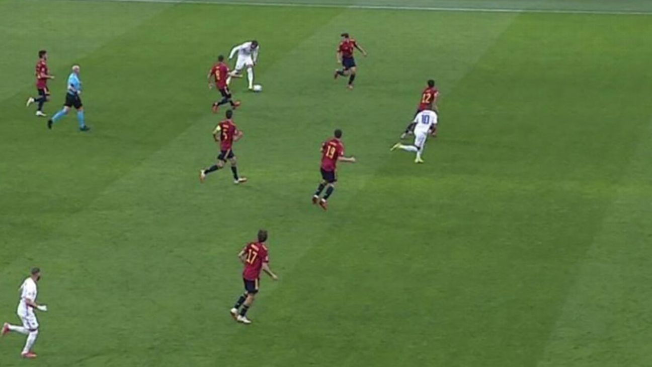 Why Mbappe's 'offside' Nations League-winning goal was allowed to stand