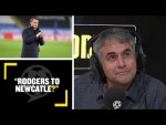 RODGERS TO NEWCASTLE? Shaun Custis wants him to leave Leicester to join 'bigger club' Newcastle!